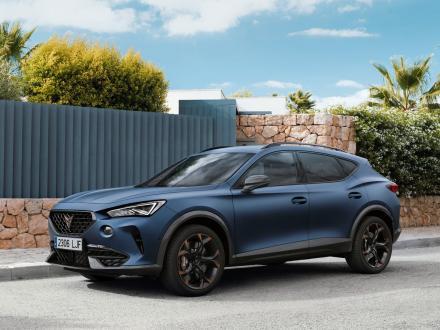 Nou!  covorașe auto pentru Cupra Formentor 2020->