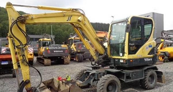 Hyundai-excavator 55W9