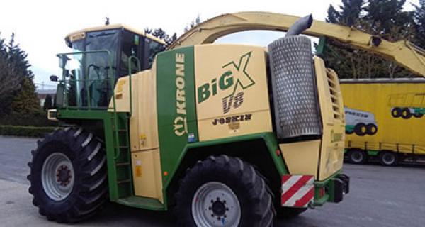 Krone BIG X 600 covor cabina 2012 ->