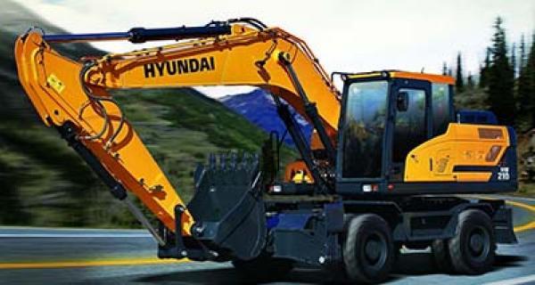 HYUNDAI HW140 excavator 2016