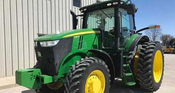 Concasor / combine agricole John Deere 7000 serie